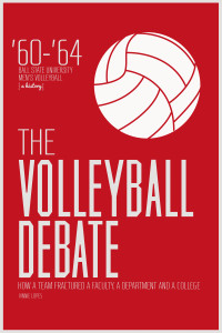 The Volleyball Debate new cover