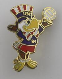 1984 olympic pin