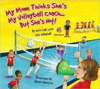Mom not volleyball coach
