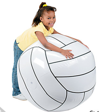 big-inflatable-volleyball