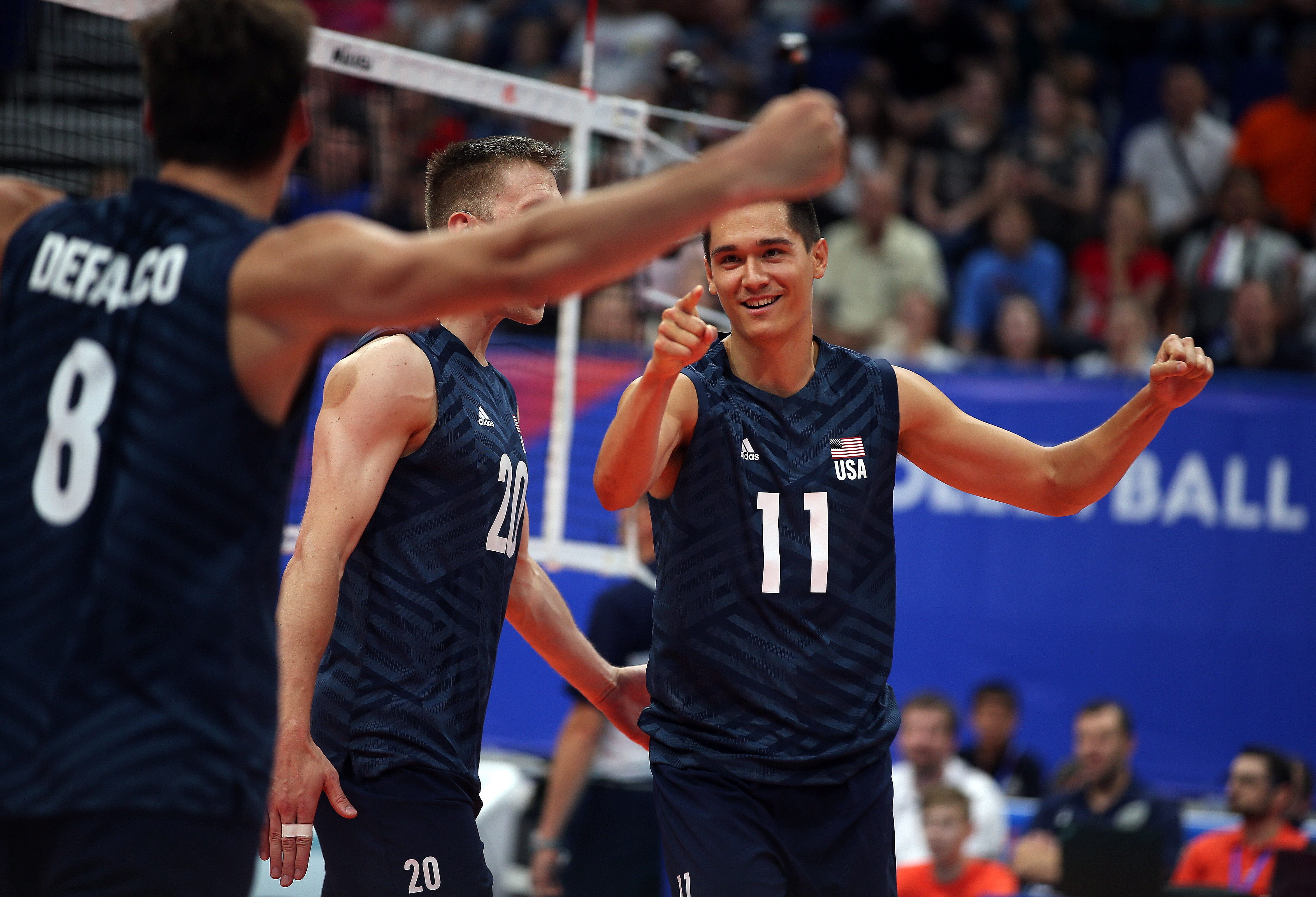 Fivb Volleyball Nations League Match Results From Sunday Off The Block