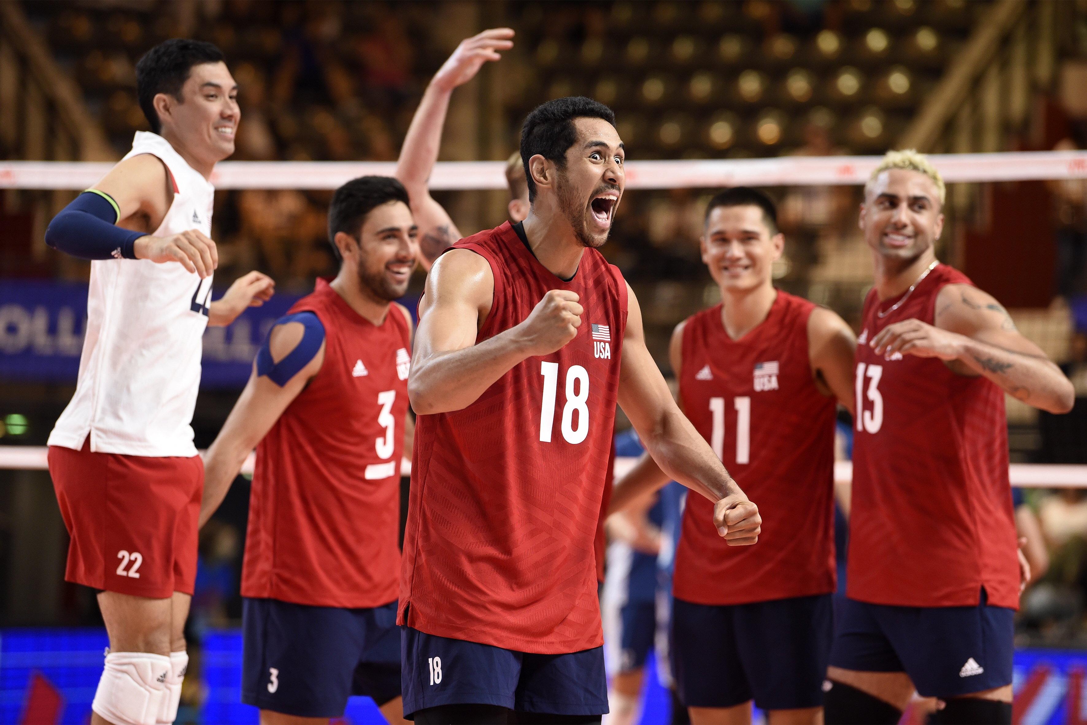 Fivb Volleyball Nations League Match Results From Friday Off The Block