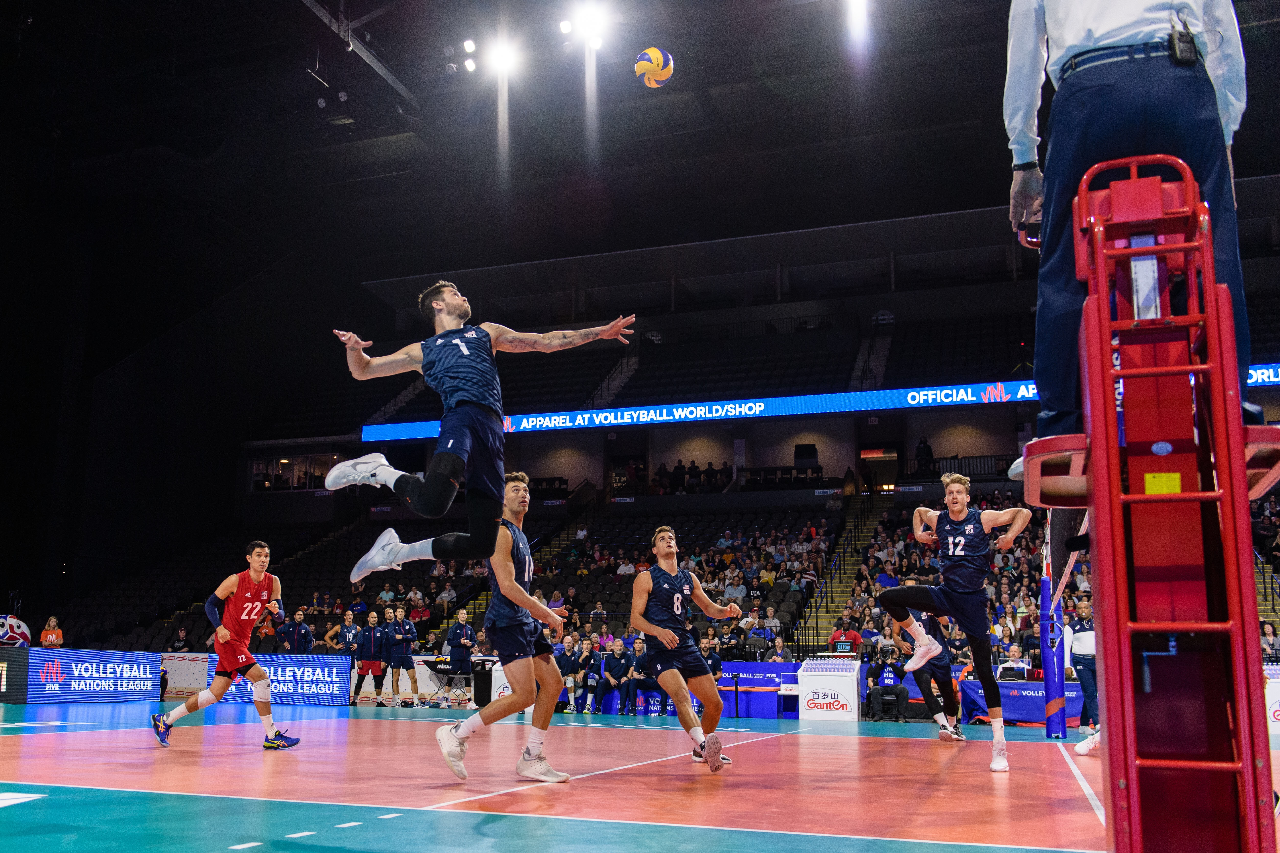 Fivb Volleyball Nations League Match Results From Saturday Off The Block